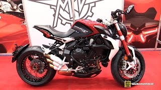 getlinkyoutube.com-2015 MV Agusta Dragster 800 RR - Walkaround - 2015 Salon Moto de Quebec