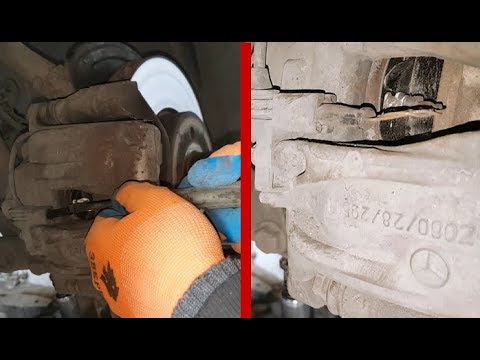 Mercedes W211 Ошибка Brake Wear делать если не пропал ошибка Brake Wear