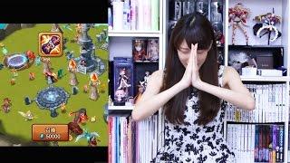getlinkyoutube.com-【サマナーズウォー】伝説の召喚書を初めて引くよ!☆5来るかな!?【まみちゃんねる】