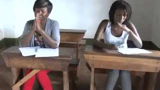 getlinkyoutube.com-Kansiime Anne has a vision to copy in an exam on Minibuzz