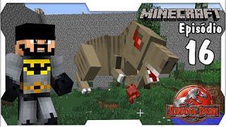 getlinkyoutube.com-Minecraft Jurassic Park #16: Alimentando a Docinha T-Rex, Adeus Vaquinhas... [Dino Cube]