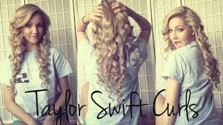 getlinkyoutube.com-Voluminous Taylor Swift Curls ♡