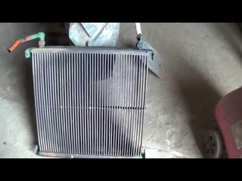 Масляный радиатор комбайна Дон 1500 (движение масла)