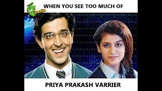 When You See Too Much of Priya Prakash Varrier's Viral Videos - Funny Koi Mill Gaya Video