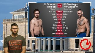 UFC Fight Night 113 Glasgow Main Event : Nelson vs Ponzinibbio Prediction