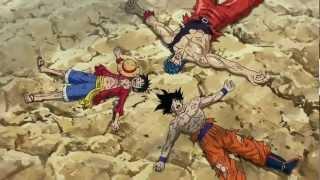 getlinkyoutube.com-Toriko X One Piece X Dragon Ball Z Crossover - Best Anime Fight Ever
