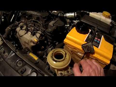 Замена масла в гидроусилителе руля. Chevrolet aveo