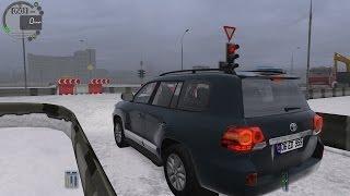getlinkyoutube.com-City Car Driving 1.5.0 Toyota Land Cruiser 200 V8 TrackIR 4 Pro [1080P]