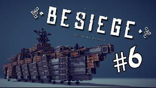 getlinkyoutube.com-A FREAKING WARSHIP!!   Besiege #6   Player Creations