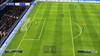 getlinkyoutube.com-FIFA 14 - Chelsea FC vs. Manchester United FC Gameplay [HD]