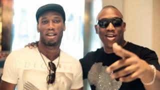 Mokobe et Drogba à Los Angeles après les B.E.T Awards