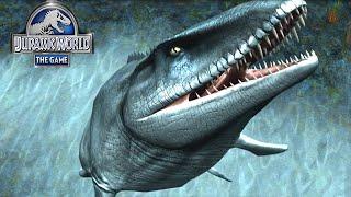 getlinkyoutube.com-Jurassic World The Game: Live MOSASAURUS UNLOCKED   MOSASAURUS Event