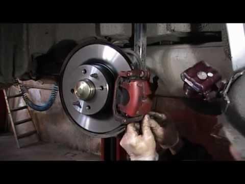 Fiat Stilo 192 wymiana tarcz i klockow tyl.