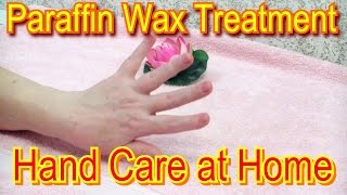 getlinkyoutube.com-Paraffin Wax Treatment for Hands - Hand Care at Home
