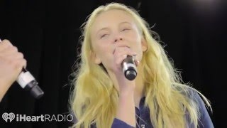 getlinkyoutube.com-Zara Larsson's interview and performance @ KissFM