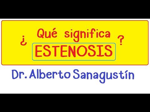 ¿Qué es una Estenosis? (Clases de medicina)