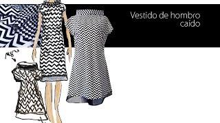getlinkyoutube.com-Como confeccionar un vestido con el hombro caído DIY