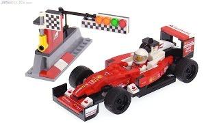 getlinkyoutube.com-LEGO Speed Champions Ferrari Formula One SF16-H car review!