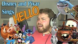getlinkyoutube.com-Disney and Pixar Sings Hello