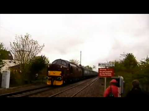 Trainspotter gets lucky escape