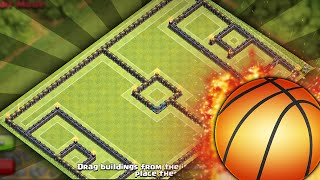 Clash of Clans - Town Hall 10 - Basketball BASE *2015*