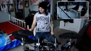 getlinkyoutube.com-Aaron Kitcher Infant Annihilator)   Decapitation Fornication   Drum Play through [OFFICIAL] [HD]