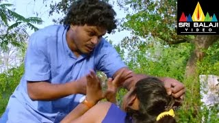 Lovers Movie Sapthagiri Beating Girls on Road   Sumanth Ashwin, Nanditha   Sri Balaji Video