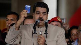Nicolás Maduro explica por qué EE.UU. lo ha sancionado