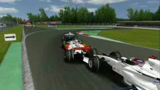 Rfactor  FSOne 07  Monza Crash Start