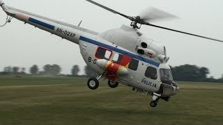 getlinkyoutube.com-Crazy Pilot Shows How To Fly The Mi-2 Police Helicopter HD
