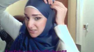 getlinkyoutube.com-Hijab Tutorial #14 (Pashmina Wrap)