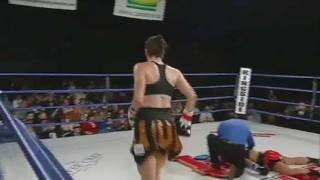 getlinkyoutube.com-Jelena Mrdjenovich knocks out Olivia Gerula