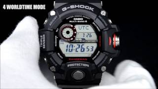 getlinkyoutube.com-G-SHOCK MASTER OF G RANGEMAN GW-9400 Demonstration Gショック レンジマン デモンストレーション