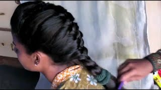 getlinkyoutube.com-Simple Poof French Fichtail Braid Hairstyles