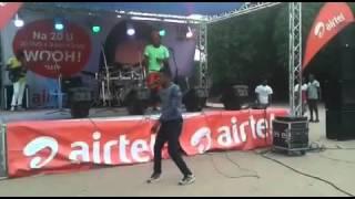 Teddy Diso - Yesu Atombwama (concert airtel)