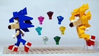 getlinkyoutube.com-How to Build LEGO Sonic the Hedgehog & Super Sonic