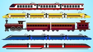 getlinkyoutube.com-Learning Train For Children | Railway Vehicles | Fun and Educational Learning Videos