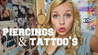getlinkyoutube.com-PIERCINGS & TATTOOS - Dagi Bee