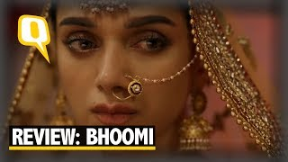 'Bhoomi' Review: Dutt's Stale 'Rape Revenge' Drama Fails to Click - The Quint width=