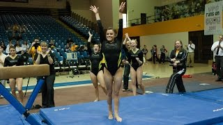 getlinkyoutube.com-Kacy Catanzaro: Towson Gymnastics' Ninja Warrior