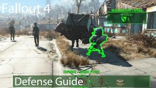 getlinkyoutube.com-Fallout 4: Settlement Defense Guide (Sentry Turrets/Structures/Traps)