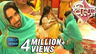 getlinkyoutube.com-Baldev And Veera Romantic Meeting In Their Haldi Ceremony   Ek Veer Ki Ardaas... Veera   Star Plus