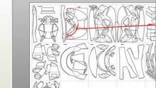 getlinkyoutube.com-pepakura tutorial  CREAR CASCOS  de halo y ironman MANUALIDADES