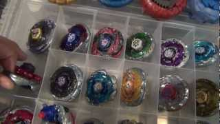 getlinkyoutube.com-Jp0t's End of the Year BEYBLADE COLLECTION Video! Pt.1 - 12/31/12