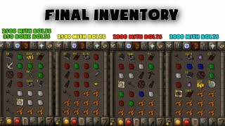 getlinkyoutube.com-Runescape 2007: 10K Mithril Bolts at Tzhaars (Loot video) - Time Wasted