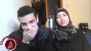 getlinkyoutube.com-★ HD ★آخطر كوبل مغربي يقلد الآصوات Dubsmash maroc