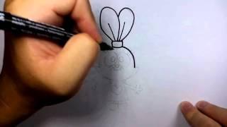 getlinkyoutube.com-วาดการ์ตูน กันเถอะ สอนวาดรูป การ์ตูน  ปานินี่ Panini จาก การ์ตูน ชาวเดอร์ Chowder
