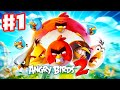 Angry Birds 2 - Gameplay Walkthrough Part 1 - Feathery Hills Levels 1-15! 3 Stars! iOS, Android