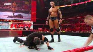 getlinkyoutube.com-WWE Monday Night Raw 2009-04-06 Randy Orton vs Vince McMahon. Super !