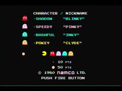 PacMan Intro (Names)